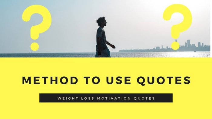 Quotes for Weight Loss