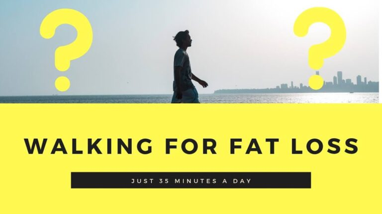 WALKING FOR FAT LOSS: What Happens After 35 Mins Of WALK?