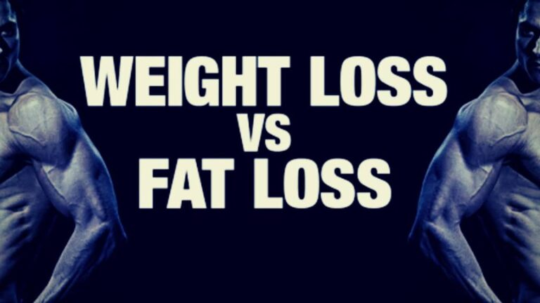 Weight Loss vs Fat Loss: 4 Truths You Need To Know (Right Now!) [2021]