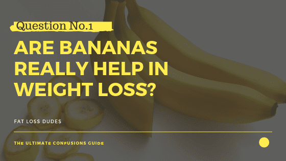 banana Helps in Weight Loss