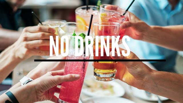 No unhealthy drinks