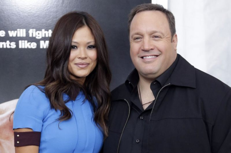 Kevin James and His Wife